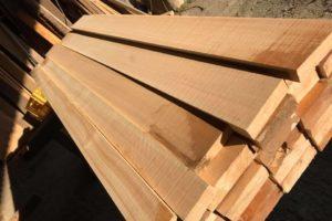 桧の柾目板